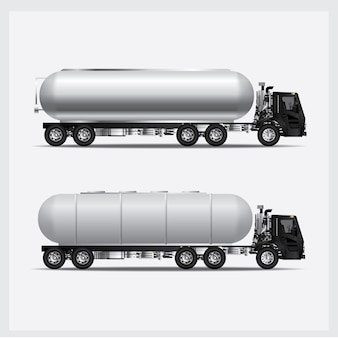 Fracht-lkw-transport-vektor-illustration