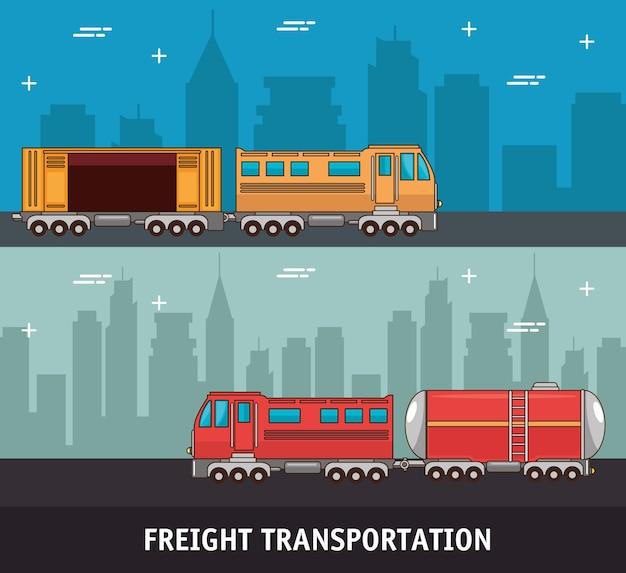Frachttransport und lieferlogistik