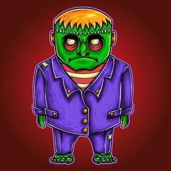 Frankenstein halloween monster charakter