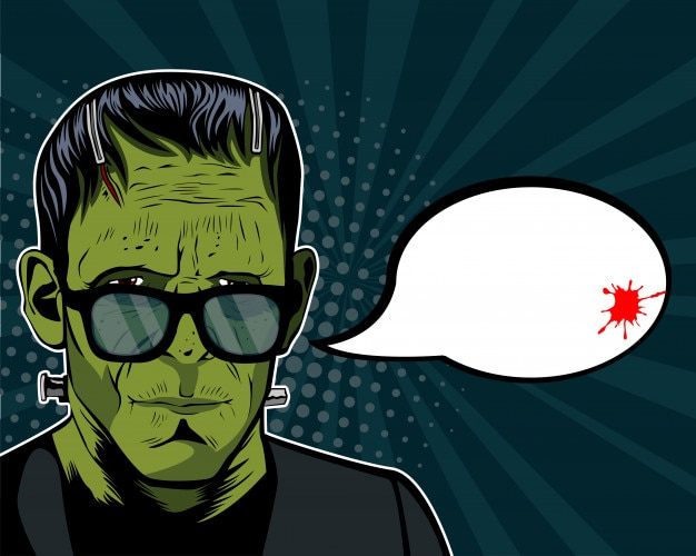 Frankenstein-hipster