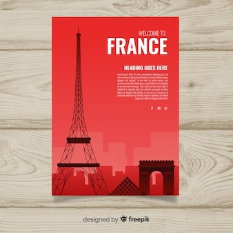 Frankreich-flyer