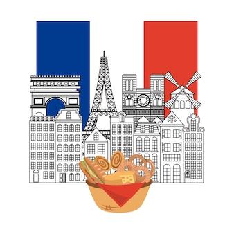 Frankreich gebäude