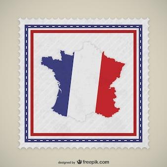 Frankreich stempel