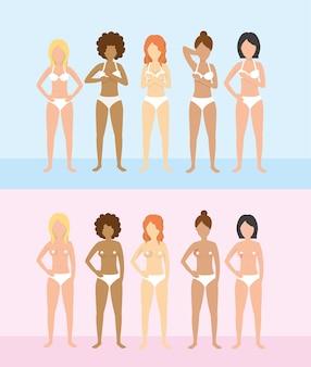 Frauen brustkrebserkrankungen unterstützen