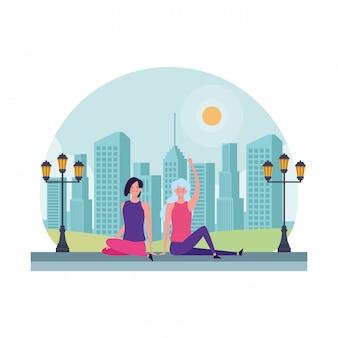 Frauen sitzen avatar