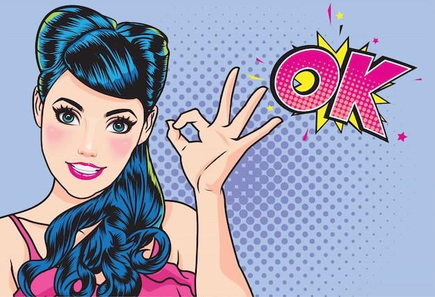 Frauenfinger-ok-gestenaktion