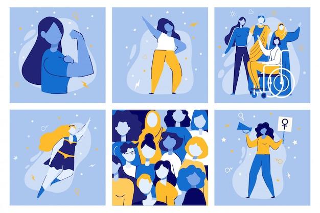 Frauenpower frauen feministischer bewegungskampf