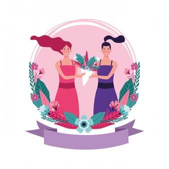 Frauentageskarikatur