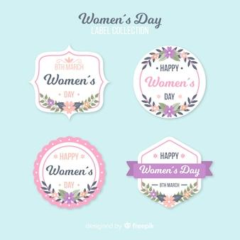 Frauentagslabelsammlung
