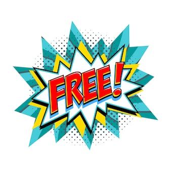 Free - vektor-comic-tag