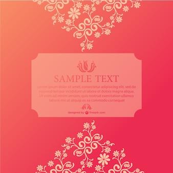 Freepik floral vector grußkarte