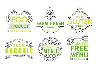 Freie Ikone des Glutens, freies Zeichen des Glutens lokalisiert über weißem Hintergrund.