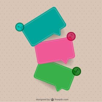 Freie vektor-template-design