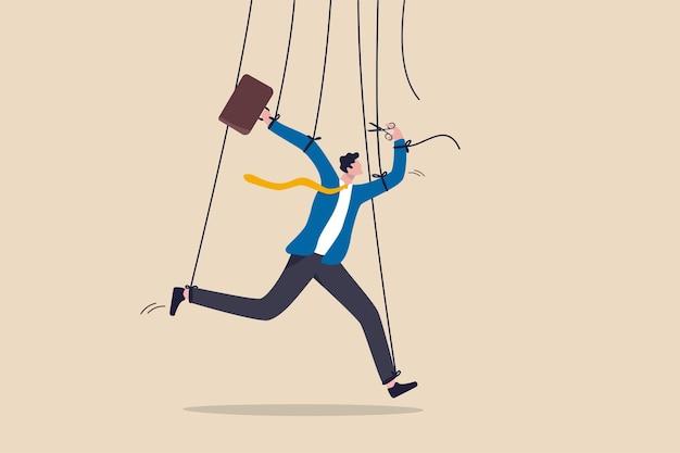 Freiheit für arbeit und entscheidungsfindung