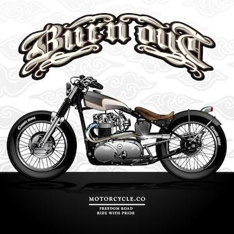Freiheit-zerhacker-motorrad-plakat