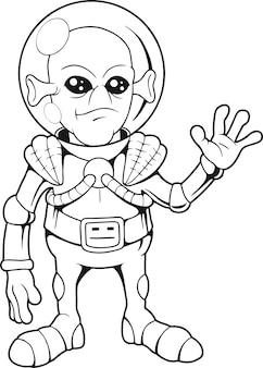 Freundlicher alien