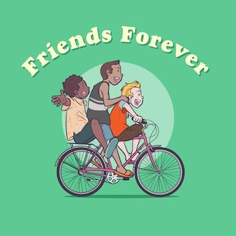 Freundschaftstag - soziusfahrt