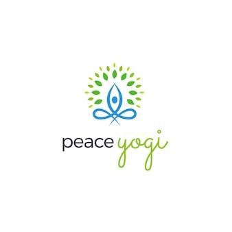 Friedens-yoga-logo-design
