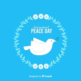 Friedenstageskonzept mit einem dover