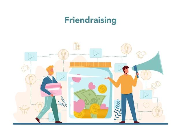 Friendraising.
