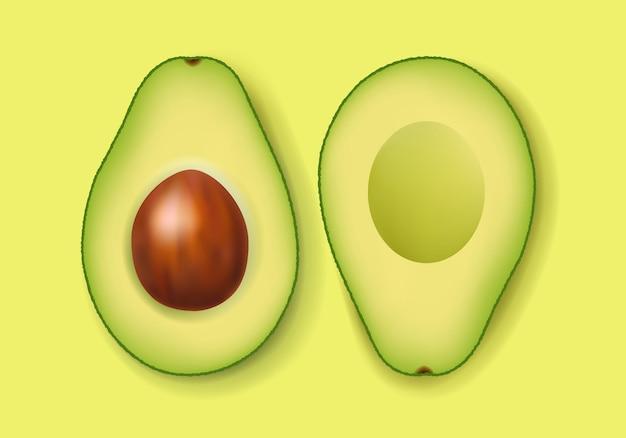 Frische avocado