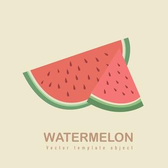 Frische wassermelone