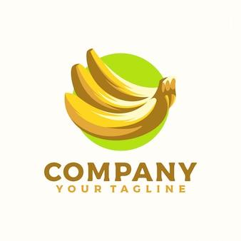 Frisches bananenlogo