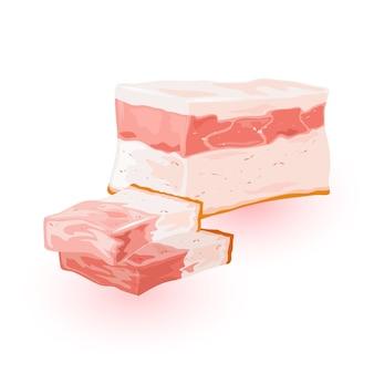 Frisches fleischprodukt vom bauernhof