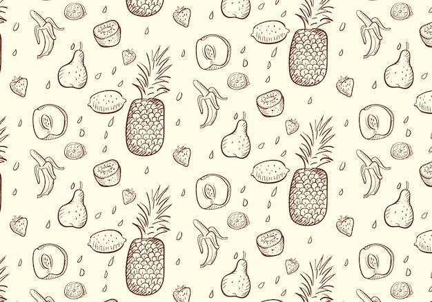 Frisches fruchtmuster