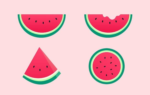 Frisches stück wassermelone