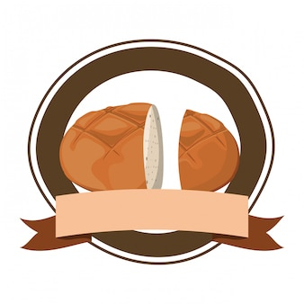 Frisches und leckeres bagelbrot