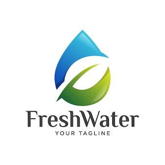 Frischwasser logo farbverlauf.