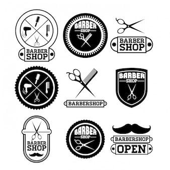 Friseurladen-design