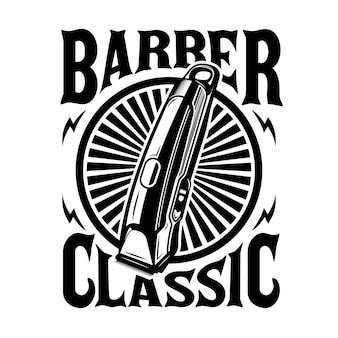 Friseursalon-clipper-emblem