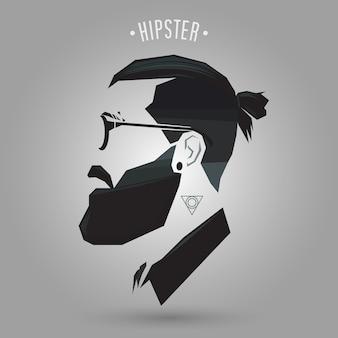 Frisur-hipster