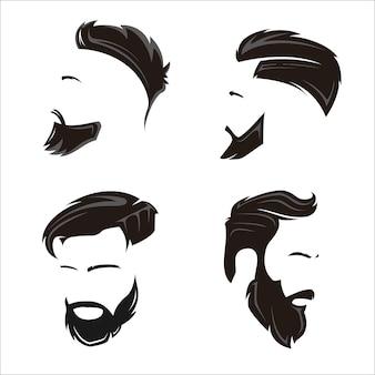 Frisur illustration
