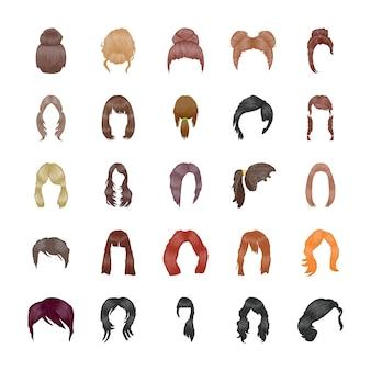 Frisuren icons pack