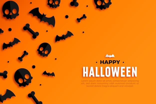 Fröhliche halloween-tapete