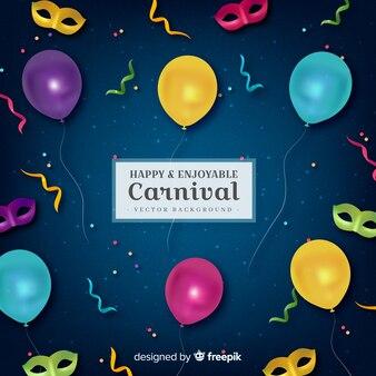 Fröhlicher und angenehmer karneval