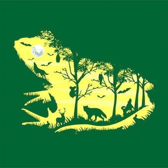 Froggy nacht