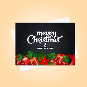 Frohe weihnachten 2019 banner vorlage