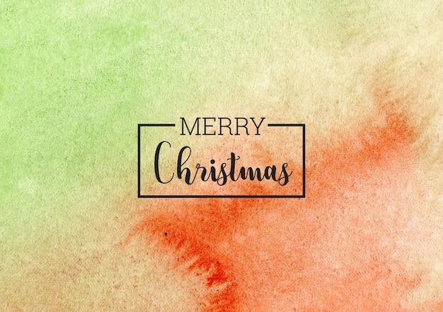 Frohe weihnachten aquarell hintergrund