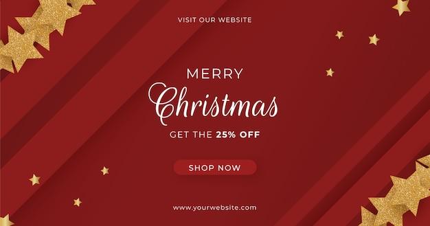 Frohe weihnachten banner sale