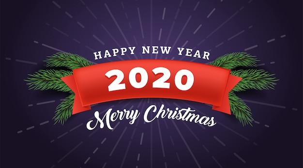 Frohe weihnachten banner vorlage.