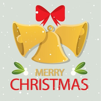 Frohe weihnachten bell