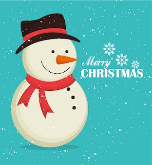 Frohe weihnachten bunte karte