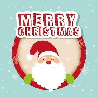 Frohe weihnachten card design