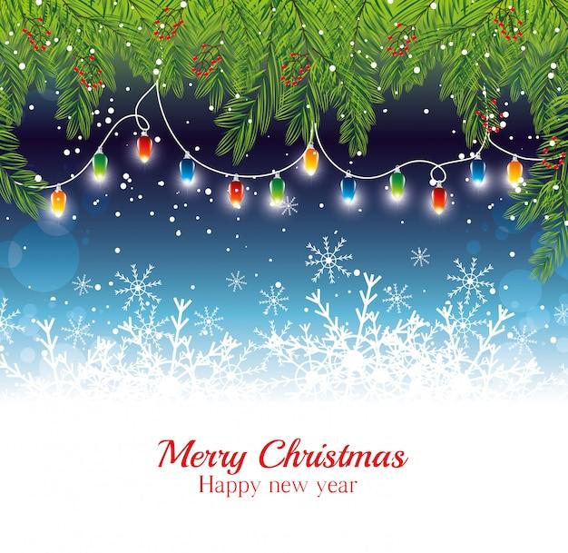 Frohe weihnachten, die karte wünschen