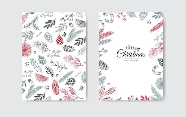 Frohe weihnachten einladung