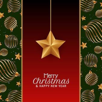 Frohe weihnachten festival gruß hintergrund